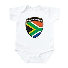 South Africa Emblem Infant Bodysuit