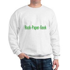 Rock Paper Geek Sweatshirt