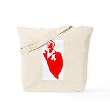 Lenin Silhouette Tote Bag