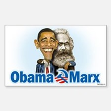 Obama Marx (re-release) Decal