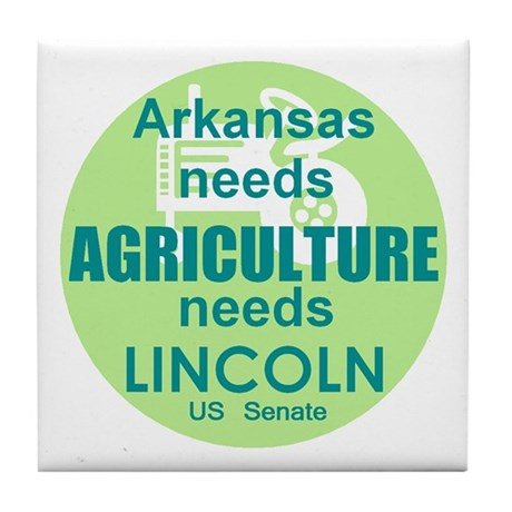 Lincoln Agriculture Tile Coaster