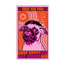 Drop Bones Not Bombs! PUG Decal