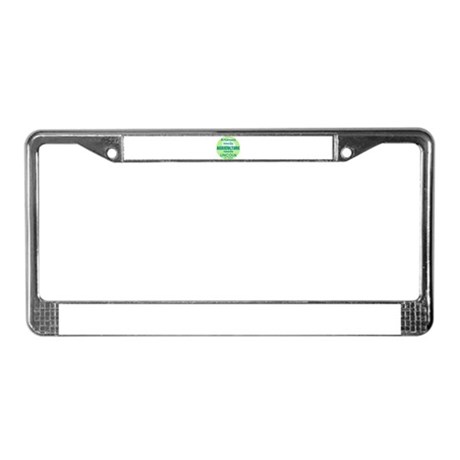 Lincoln Agriculture License Plate Frame