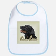 Black Labrador Retriever Bib