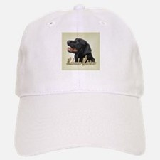Black Labrador Retriever Baseball Baseball Cap