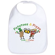 Irish & Italian Bib