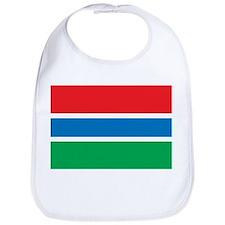 Gambia Flag Bib