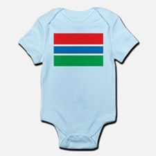 Gambia Flag Infant Creeper