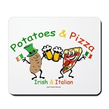 Irish & Italian Mousepad