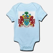 Gambia Coat Of Arms Infant Creeper