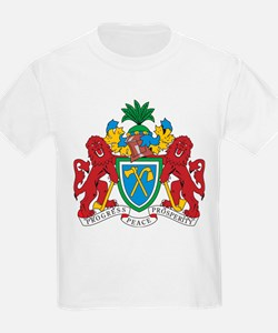 Gambia Coat Of Arms Kids T-Shirt