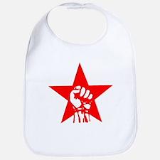 Red Star Fist Bib