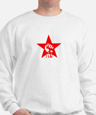 Red Star Fist Sweater