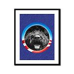 bObama Framed Panel Print