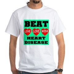 Live Love Win Beat Heart Dise Shirt