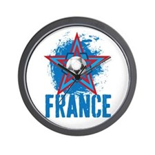 france star Wall Clock