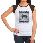 Boston Terriers Nervous But Nice - Women's T-Shirt