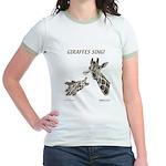 Giraffes Sing! Jr. Ringer T-Shirt