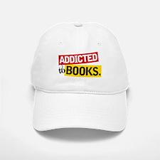 Funny Addicted To Books Baseball Baseball Cap