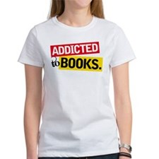 Funny Addicted To Books Tee