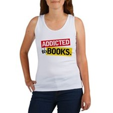 Funny Addicted To Books Women's Tank Top