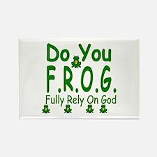 Do you F.R.O.G. Rectangle Magnet