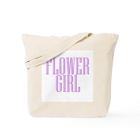 Flower Girl Niagara Engraved Tote Bag
