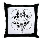 Morbid Rodz Throw Pillow