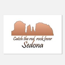 Red Rock Fever Postcards (Package of 8)