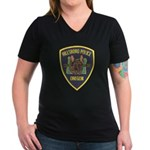 Hillsboro Police Canine Women's V-Neck Dark T-Shir