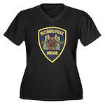 Hillsboro Police Canine Women's Plus Size V-Neck D