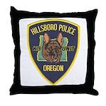 Hillsboro Police Canine Throw Pillow