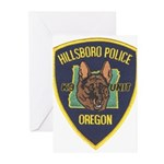 Hillsboro Police Canine Greeting Cards (Pk of 10)