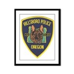 Hillsboro Police Canine Framed Panel Print