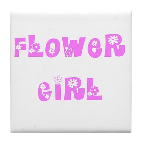 Hippie Pink Tile Coaster