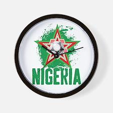 NIGERIA STAR Wall Clock