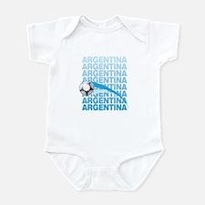 ARGENTINA SOCCER 2010 Infant Bodysuit