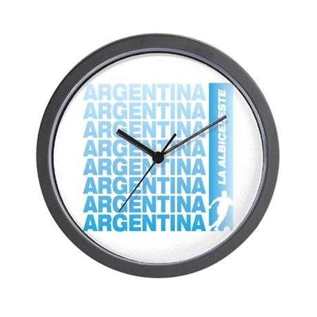 ARGENTIA SOCCER Wall Clock