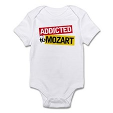 Addicted To Mozart Infant Bodysuit