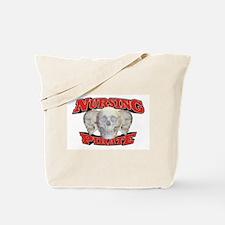 Nursing Pirate Tote Bag