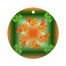 Nature Mandala Ornament (Round)