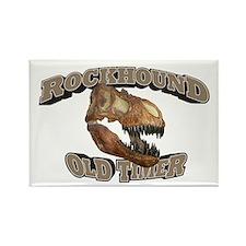 Rockhound Old Timer Rectangle Magnet