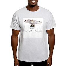 Airborne WMD Ash Grey T-Shirt
