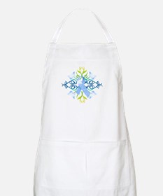 Blue Survivor Apron
