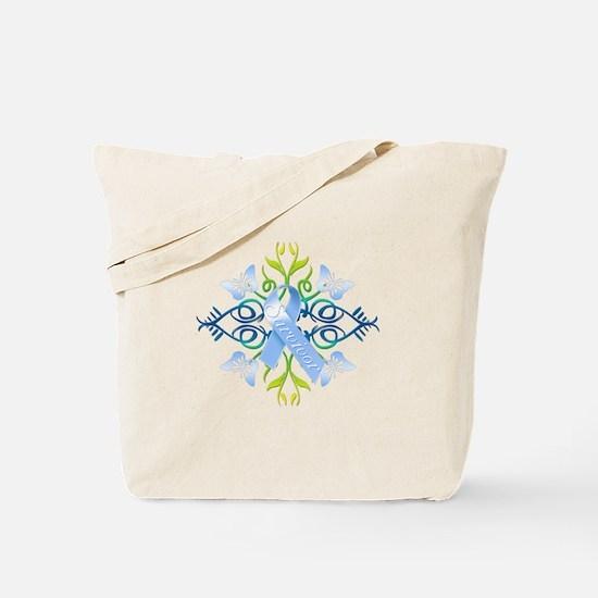 Blue Survivor Tote Bag