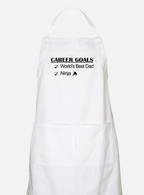 World's Best Dad - Ninja Goals Apron