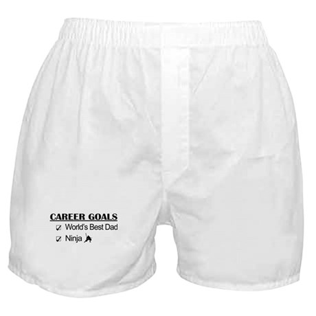 World's Best Dad - Ninja Goals Boxer Shorts