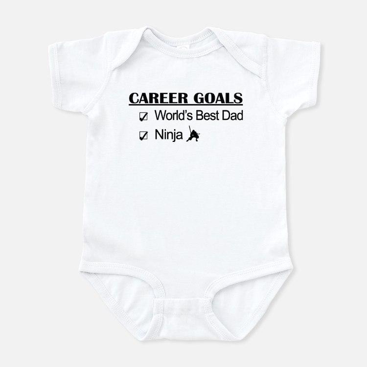 World's Best Dad - Ninja Goals Infant Bodysuit