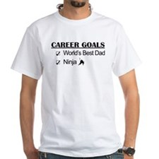 World's Best Dad - Ninja Goals Shirt