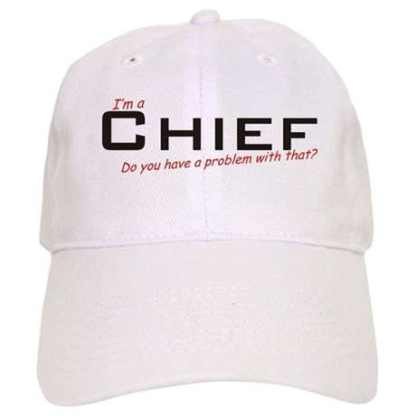 Chief/Problem! Cap